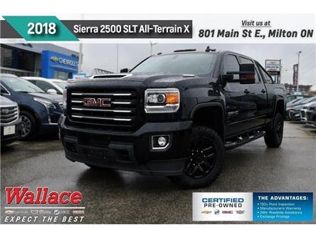 2018 GMC Sierra 2500HD SLT/ALL-TERRAIN X/DURAMAX/910 LB-FT/Z71/TRAILR PK (Stk: 232715A) in Milton - Image 1 of 25
