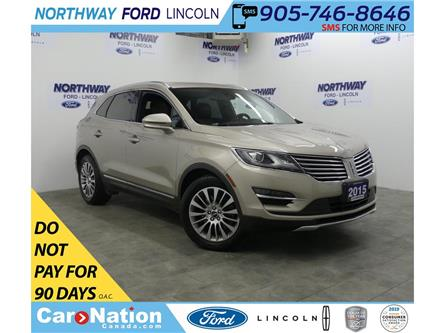 2015 Lincoln MKC Reserve | NAV | LEATHER | PANO-ROOF | BLIS (Stk: LC91291A) in Brantford - Image 1 of 32