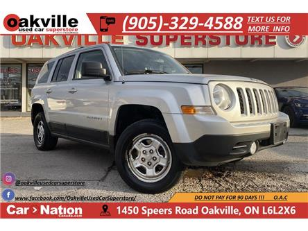 2013 Jeep Patriot 4WD SPORT | CRUISE | AUX | RARE MANUAL TRANS (Stk: P12752) in Oakville - Image 1 of 18