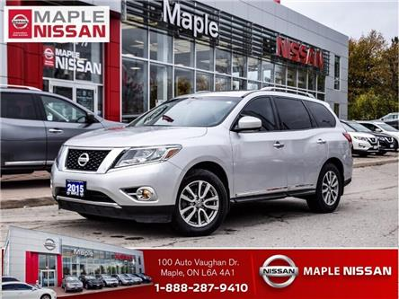 2015 Nissan Pathfinder 4WD SL|Navi|Alloys|Heated Seats (Stk: M19P042A) in Maple - Image 1 of 30