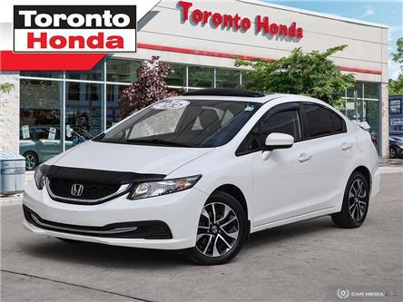 2015 Honda Civic Sedan EX (Stk: 39532A) in Toronto - Image 1 of 27