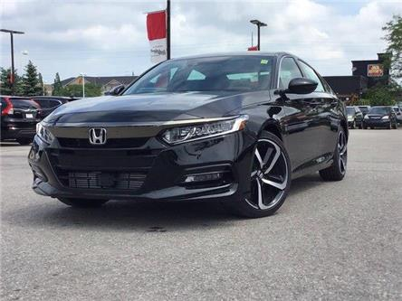2019 Honda Accord Sport 2.0T (Stk: 19982) in Barrie - Image 1 of 21