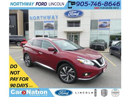 2016 Nissan Murano Platinum   AWD   NAV   HTD/AC LEATHER   PANOROOF   (Stk: LN94740A) in Brantford - Image 1 of 45