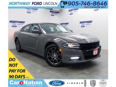 2018 Dodge Charger GT | AWD | NAV | PWR HTD SEATS | SUNROOF | (Stk: DR475) in Brantford - Image 1 of 46