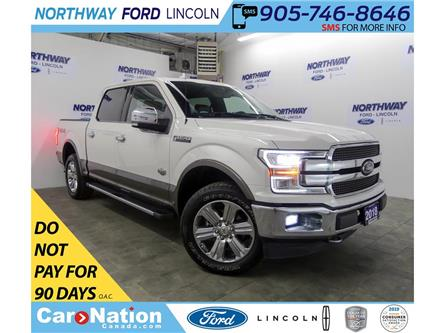 2018 Ford F-150 King Ranch | V8 | NAV | HTD LEATHER | PANOROOF | (Stk: C060) in Brantford - Image 1 of 41