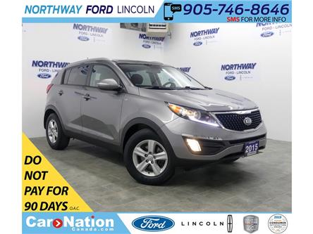 2015 Kia Sportage LX | AWD | HTD SEATS | BLUETOOTH | USB+AUX | (Stk: DR178B) in Brantford - Image 1 of 37