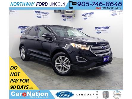 2018 Ford Edge SEL | AWD | HTD SEATS | BACKUP CAM | PUSH START | (Stk: DR483) in Brantford - Image 1 of 41