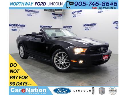 2012 Ford Mustang V6 | PREMIUM | | LEATHER | PONY PKG | SHAKER AUDIO (Stk: EC94260B) in Brantford - Image 1 of 40