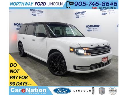 2019 Ford Flex Limited | AWD | NAV | LEATHER | 3 ROWS | PANOROOF (Stk: DR357) in Brantford - Image 1 of 48