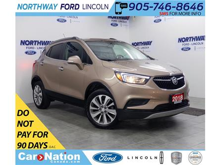 2018 Buick Encore Preferred | AWD | BACK UP CAM | PUSH START | (Stk: DR508) in Brantford - Image 1 of 34