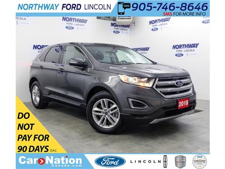 2018 Ford Edge SEL | AWD | HTD SEATS | BACKUP CAM | PUSH START | (Stk: DR435) in Brantford - Image 1 of 36