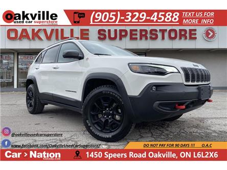 2019 Jeep Cherokee TRAILHAWK ELITE | NAVI | PANO | LEATHER | B/U CAM (Stk: P12775) in Oakville - Image 1 of 22