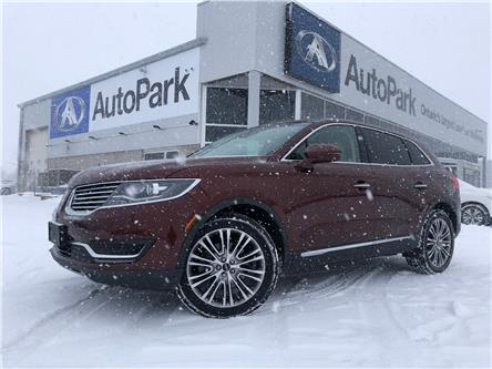 2016 Lincoln MKX Reserve (Stk: 16-46883MB) in Barrie - Image 1 of 27
