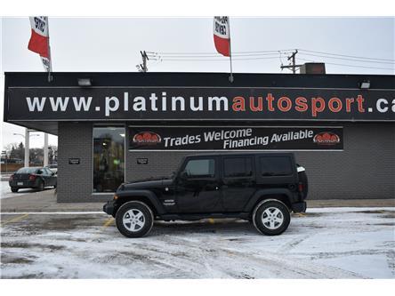 2017 Jeep Wrangler Unlimited Sport (Stk: P37364) in Saskatoon - Image 1 of 12