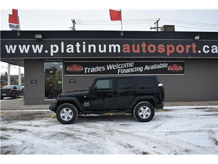2017 Jeep Wrangler Unlimited Sport (Stk: P37364) in Saskatoon - Image 2 of 12