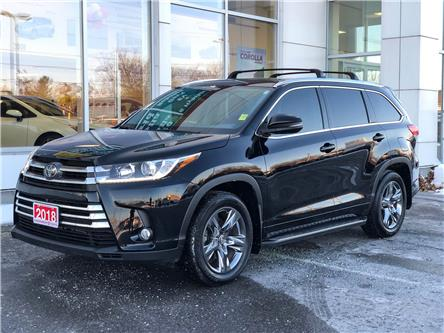 2018 Toyota Highlander Limited (Stk: W4908A) in Cobourg - Image 1 of 28