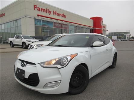 2012 Hyundai Veloster 3dr Cpe Auto w-Tech | PUSH TO START | HEATED SEATS (Stk: 075487T) in Brampton - Image 1 of 20