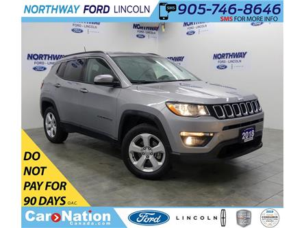 2018 Jeep Compass North | 4x4 | LEATHER | BLUETOOTH | PUSH START | (Stk: DR524) in Brantford - Image 1 of 32