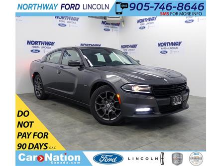 2018 Dodge Charger GT | AWD | NAV | PWR HTD SEATS | SUNROOF | (Stk: DR546) in Brantford - Image 1 of 42