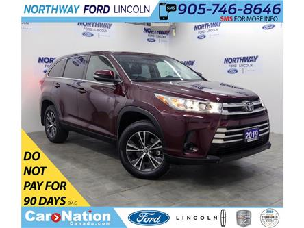 2019 Toyota Highlander LE | AWD | BACKUP CAM | 3 ROW | REAR CLIMATE | (Stk: DR702) in Brantford - Image 1 of 36