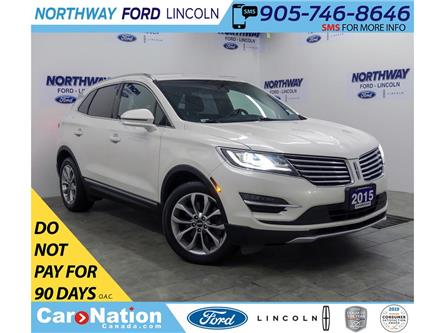 2015 Lincoln MKC Select | AWD | NAV | HTD/AC LEATHER | PANOROOF | (Stk: F294532A) in Brantford - Image 1 of 40