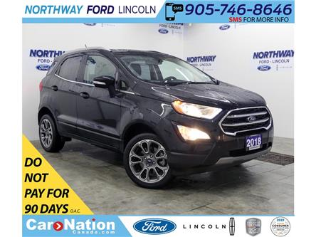 2018 Ford EcoSport Titanium | AWD | NAV | HTD LEATHER | SUNROOF | (Stk: DR596) in Brantford - Image 1 of 38