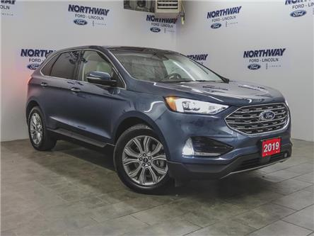 2019 Ford Edge Titanium  | AWD | NAV | PWR LEATHER | PANOROOF (Stk: EG90741A) in Brantford - Image 2 of 43