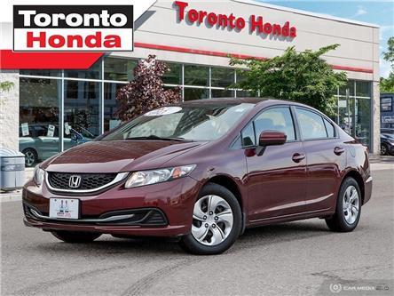2015 Honda Civic Sedan LX (Stk: 39678) in Toronto - Image 1 of 27