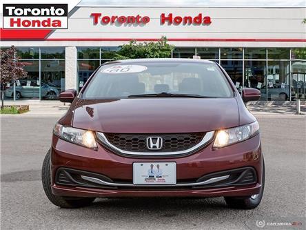 2015 Honda Civic Sedan LX (Stk: 39678) in Toronto - Image 2 of 27