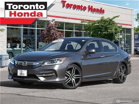 2017 Honda Accord Sedan Sport (Stk: 39649) in Toronto - Image 1 of 27