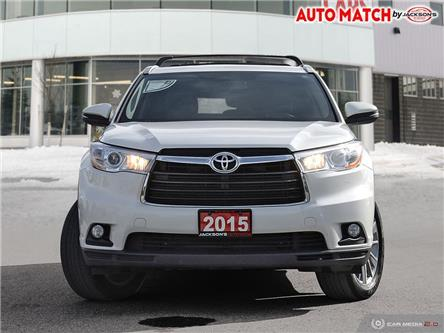 2015 Toyota Highlander XLE (Stk: U8652A) in Barrie - Image 2 of 26