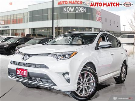 2018 Toyota RAV4 Limited (Stk: U7027) in Barrie - Image 1 of 26