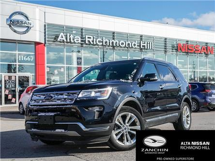 2018 Ford Explorer Limited (Stk: RY19R288A) in Richmond Hill - Image 1 of 26
