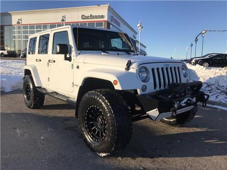 2016 Jeep Wrangler Unlimited Sahara (Stk: 190395A) in Cochrane - Image 1 of 24