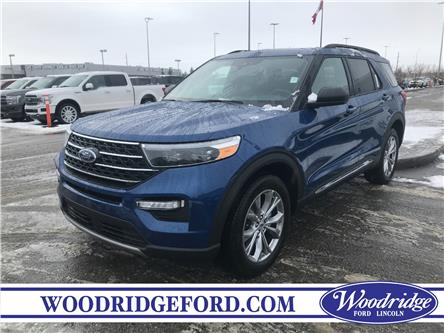 2020 Ford Explorer XLT (Stk: L-79) in Calgary - Image 1 of 5