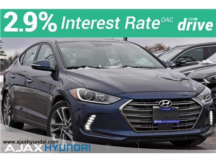 2017 Hyundai Elantra Limited SE (Stk: P4861) in Ajax - Image 1 of 34