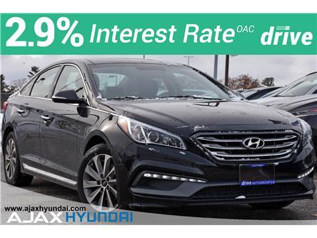 2015 Hyundai Sonata Sport (Stk: P4850L) in Ajax - Image 1 of 35