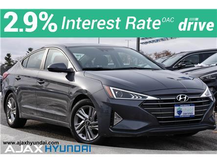 2019 Hyundai Elantra Preferred (Stk: P4854R) in Ajax - Image 1 of 33