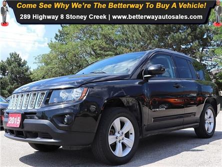 2015 Jeep Compass Sport/North| AWD| Leather| Keyless Ent (Stk: 5415) in Stoney Creek - Image 1 of 16