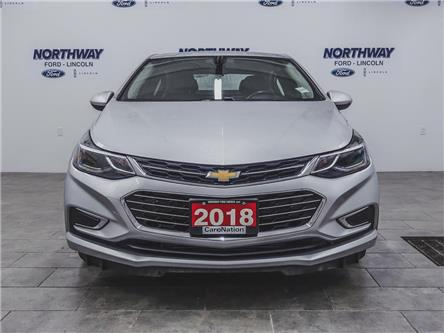 2018 Chevrolet Cruze Premier | LEATHER | HTD SEATS+WHEEL | PUSH START | (Stk: DR646) in Brantford - Image 2 of 35