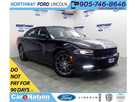 2018 Dodge Charger GT | AWD | NAV | PWR HTD SEATS | SUNROOF | (Stk: DR512) in Brantford - Image 1 of 42