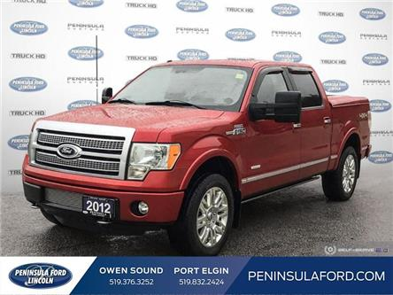 2012 Ford F-150 Platinum (Stk: 19FE414A) in Owen Sound - Image 1 of 27