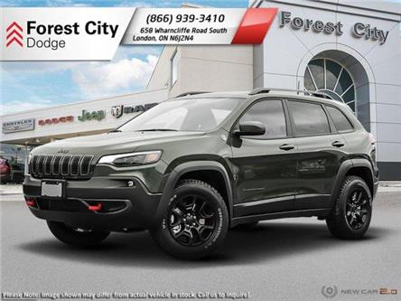 2020 Jeep Cherokee Trailhawk (Stk: 20-8006) in London - Image 1 of 23