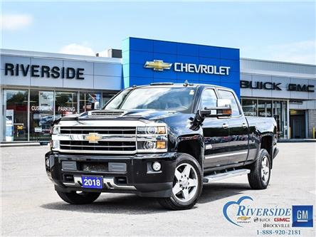 2018 Chevrolet Silverado 2500HD High Country (Stk: 19-382A) in Brockville - Image 1 of 26
