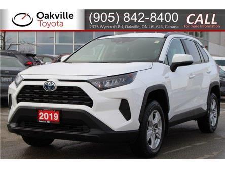 2019 Toyota RAV4 Hybrid LE (Stk: P9660) in Oakville - Image 1 of 17