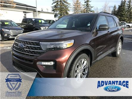 2020 Ford Explorer XLT (Stk: L-079) in Calgary - Image 1 of 6