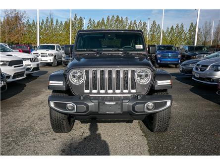 2020 Jeep Wrangler Unlimited Sahara (Stk: L162397) in Abbotsford - Image 2 of 24
