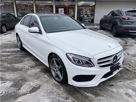 2016 Mercedes-Benz C-Class C300 4MATIC | NAVI | B/U CAM | PANO ROOF | AMG PKG (Stk: P12783) in Oakville - Image 2 of 20