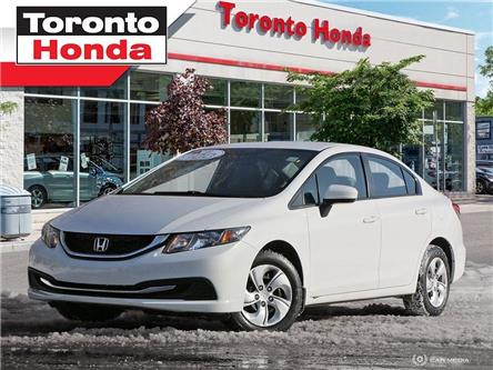 2015 Honda Civic Sedan LX (Stk: 39706A) in Toronto - Image 1 of 27