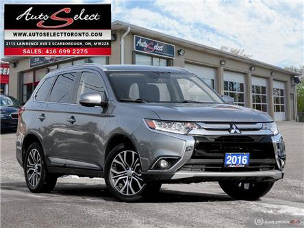 2016 Mitsubishi Outlander GT (Stk: 16MLD64) in Scarborough - Image 1 of 30